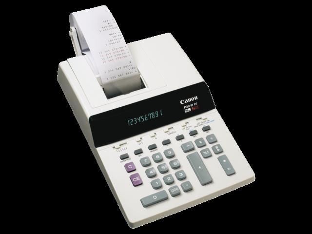 Canon rekenmachine P29-DIV