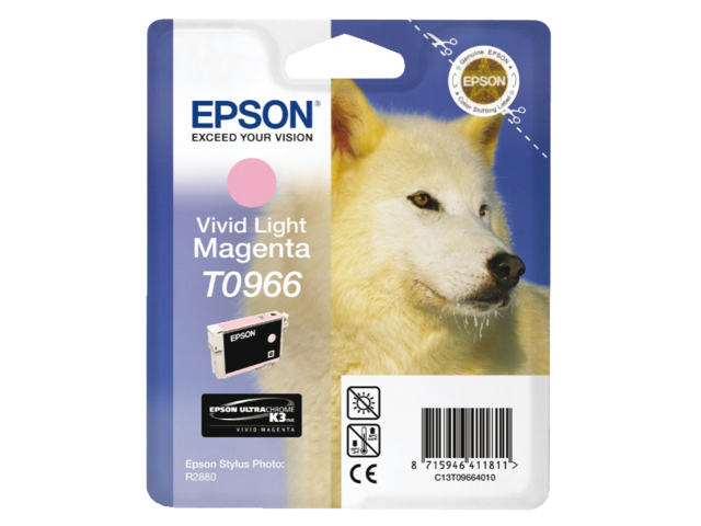 Inkcartridge epson t096640 lichtrood