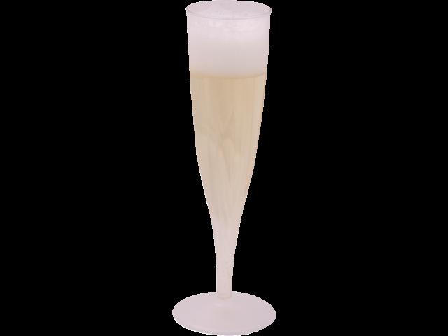 Champagneglas kunststof 135cc 100 stuks