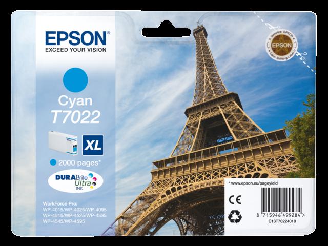Inkcartridge epson t702240 blauw hc