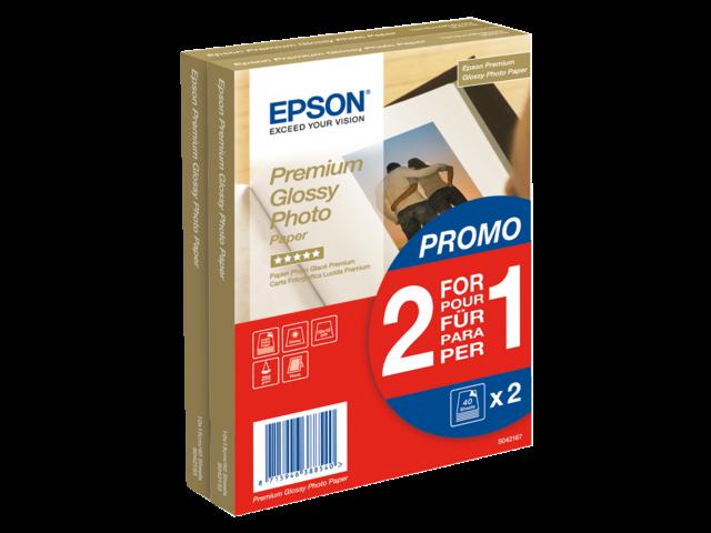Inkjetpapier epson s042167 10x15cm 255gr glossy 40vel
