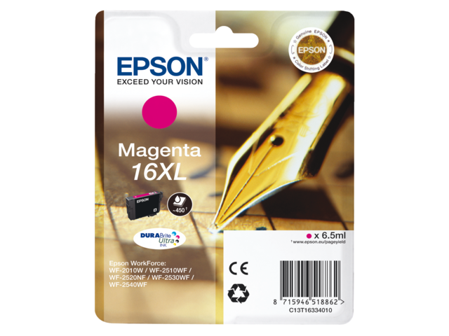 Inkcartridge epson t163340 rood hc
