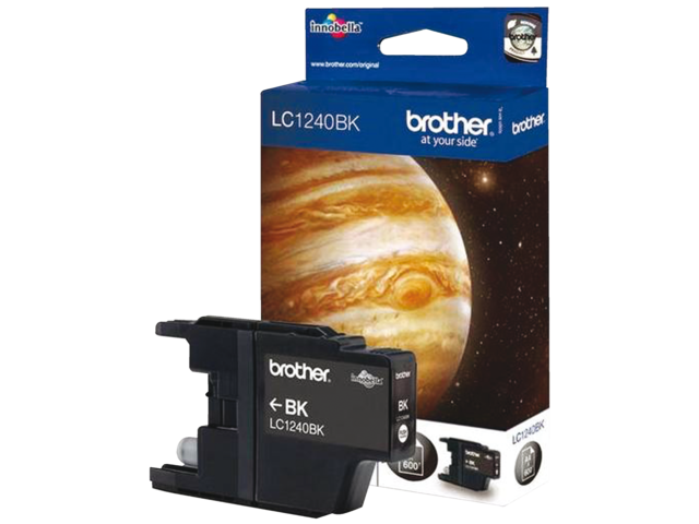 Inkcartridge brother lc-1240bk zwart