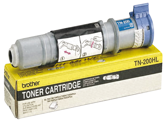 Tonercartridge brother tn-200 zwart