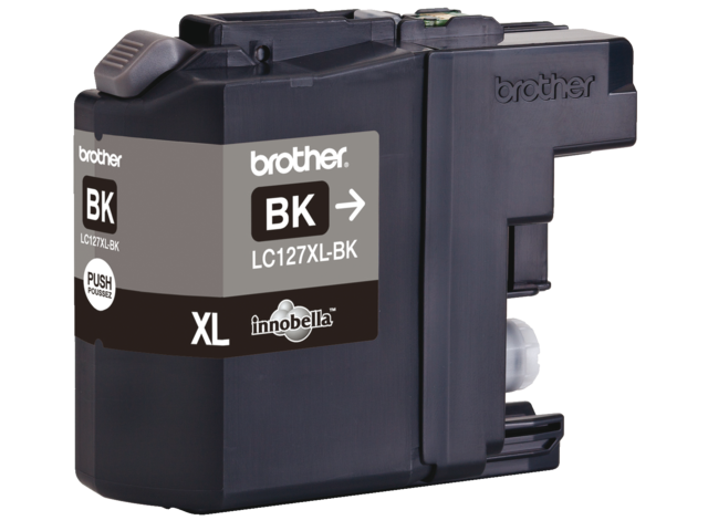 Inkcartridge brother lc-127xlbk zwart hc