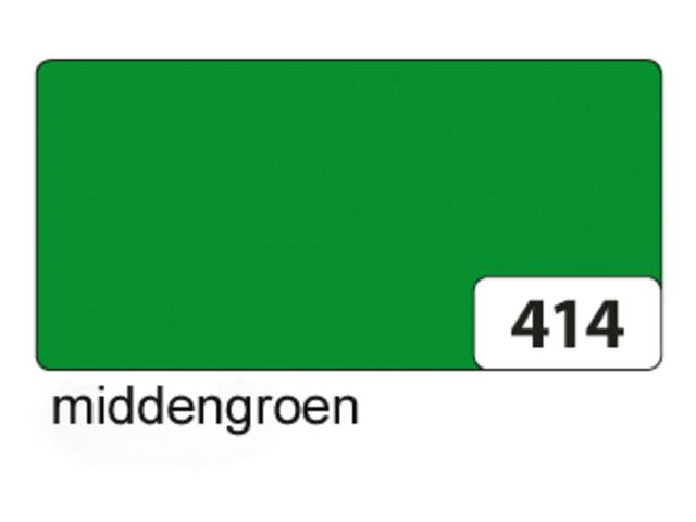 Etalagekarton folia 48x68cm 400gr nr414 middengroen