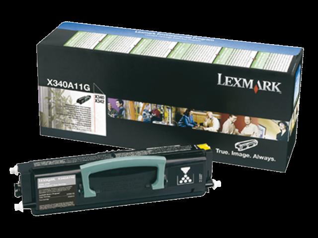 Tonercartridge lexmark x340a11g prebate zwart