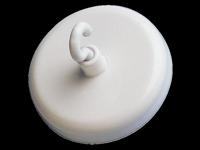 Magneet met haak maul 47mm draagkracht 15kg wit
