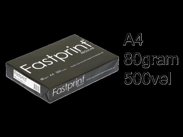 Kopieerpapier fastprint regular a4 80gr wit 500vel