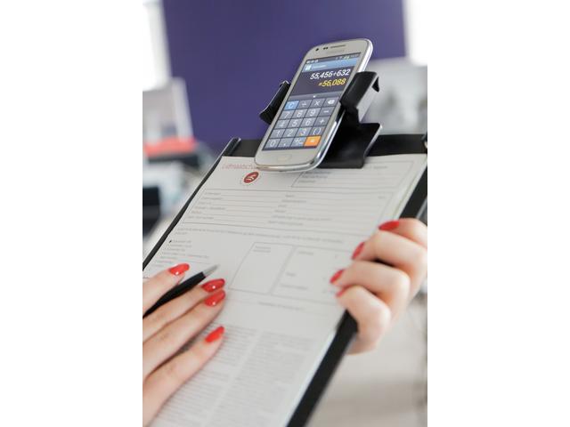 Klembord voor gebruik met smartphone