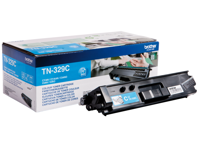Tonercartridge brother tn-329c blauw