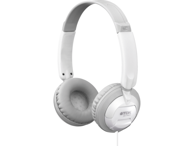 Headset tdk on ear st100 wit