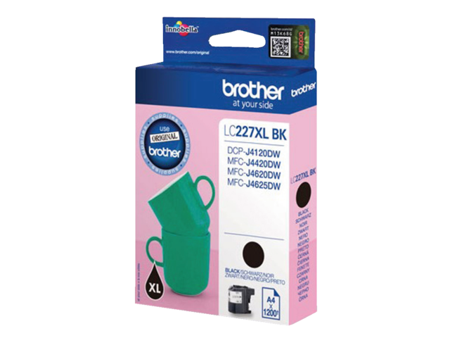 Inkcartridge brother lc-227xlbk zwart hc