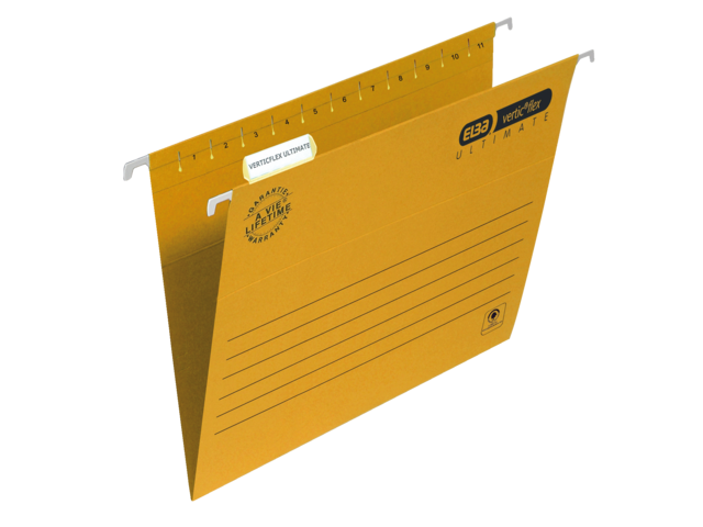 Hangmap elba verticflex folio v-bodem geel