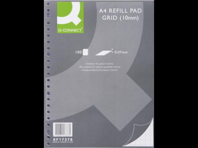 Interieur q-connect a4 23r ruit 10mm 70gr