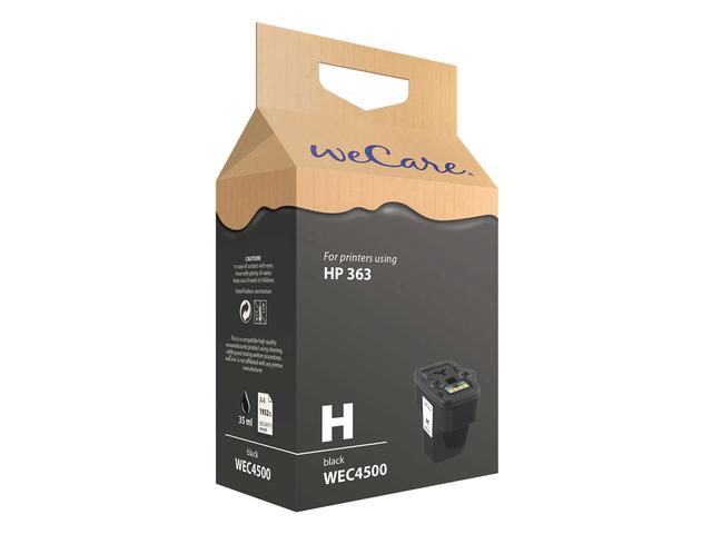 Inkcartridge wecare hp c8719ee 363 zwart