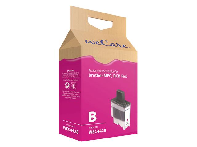 Inkcartridge wecare brother lc-900 rood