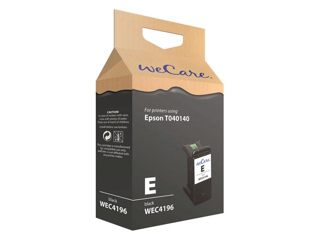 Inkcartridge wecare epson t040140 zwart