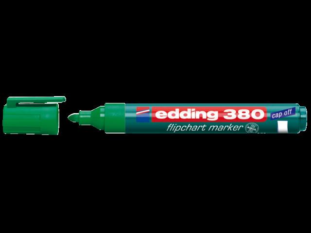 Viltstift edding 380 flipover rond groen 2mm