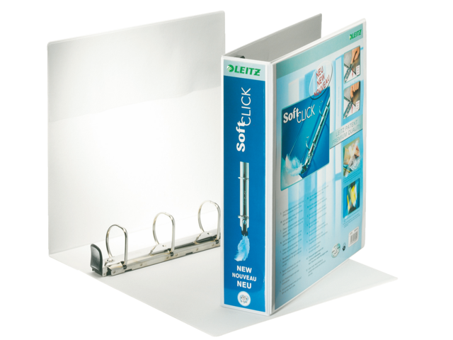 Leitz presentatieringband A4 4-rings Softclick