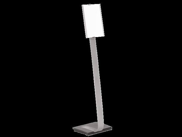 Folderstandaard durable 4812 vloerstandaard a4 aluminium