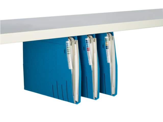 Hangmap jalema secolor lateraal voor legbord blauw
