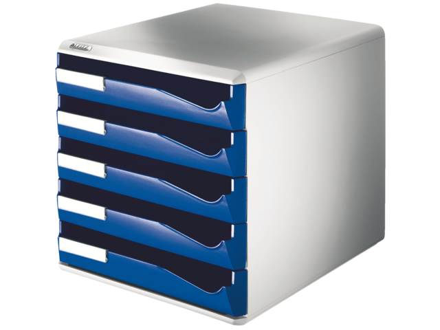 Ladenbox leitz 5280 5 laden blauw