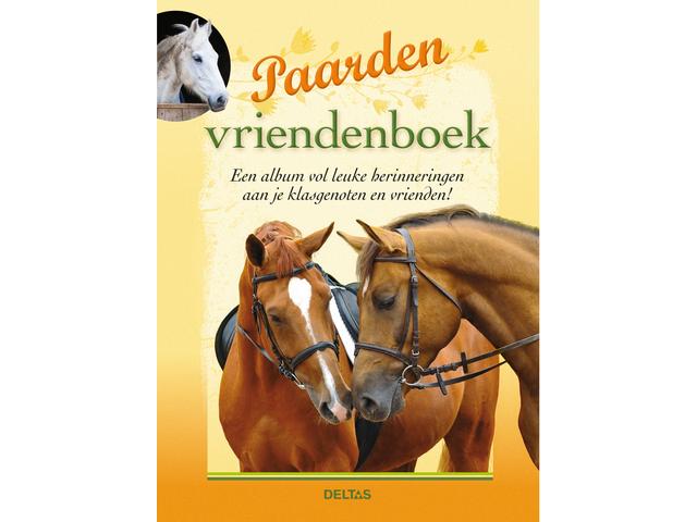 Vriendenboek paarden