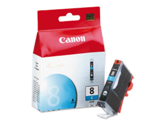 Inkcartridge canon cli-8c blauw