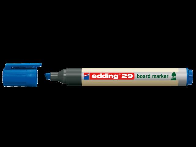 Viltstift edding 29 whiteboard eco schuin blauw 1.5-5mm