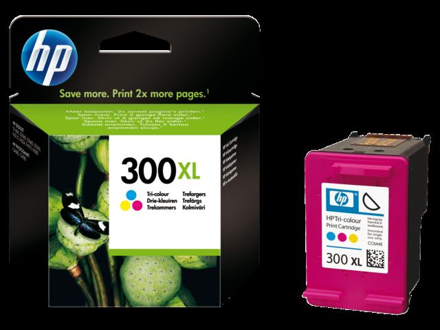 Inkcartridge hp cc644e 300xl kleur hc
