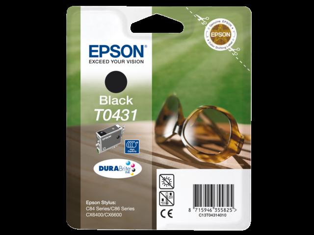 Inkcartridge epson t043140 zwart hc