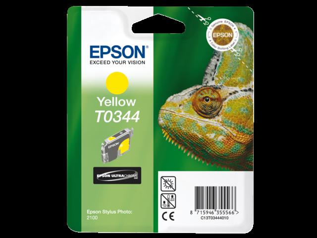 Inkcartridge epson t034440 geel