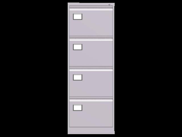 Ladenkast triumph 4 laden licht grijs