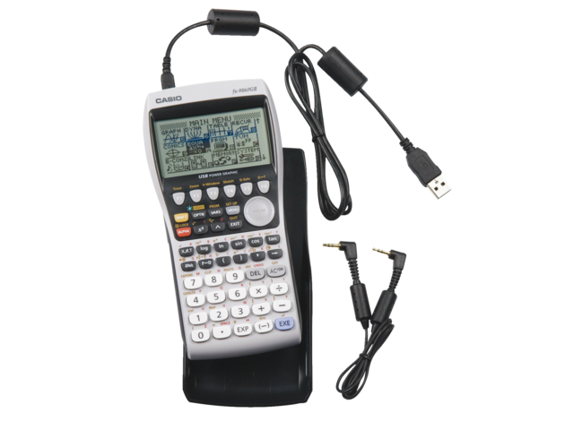 Rekenmachine casio fx-9860gii
