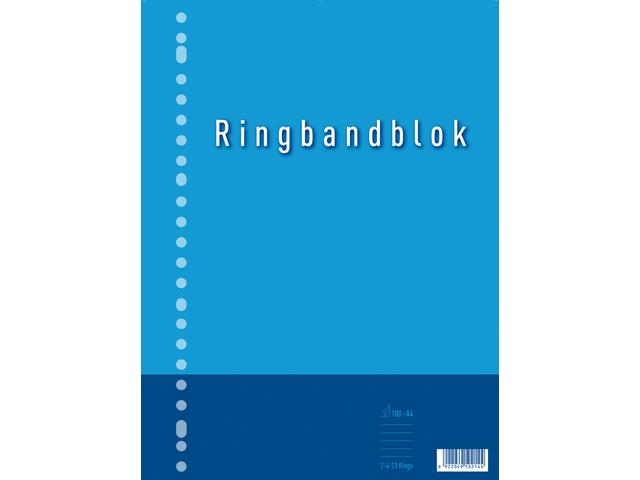 RINGBANDBLOK 23R A4 RUIT 5MM 60GR