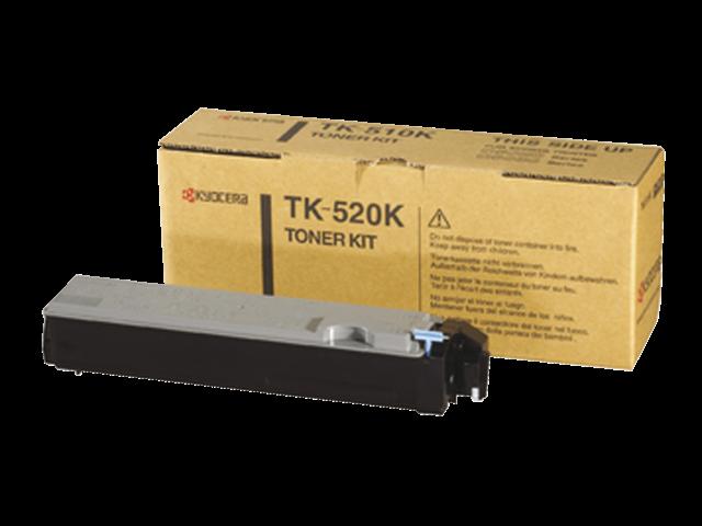 Toner kyocera tk-520k zwart