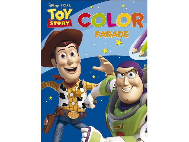 Stickerboek deltas disney color parade toy story