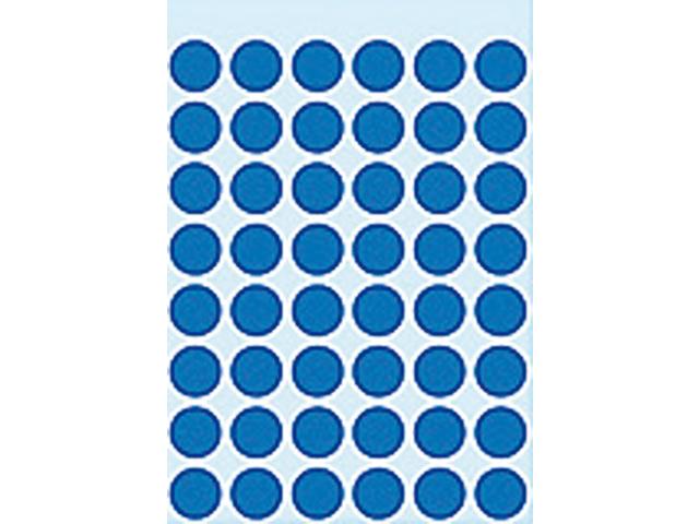 Etiket herma 1853 rond 12mm donkerblauw 240stuks