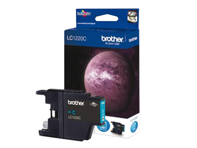 Inkcartridge brother lc-1220c blauw