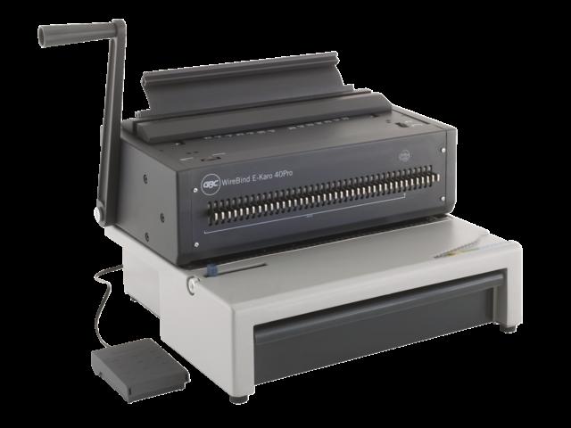 GBC draad inbindmachine WireBind Karo40 serie