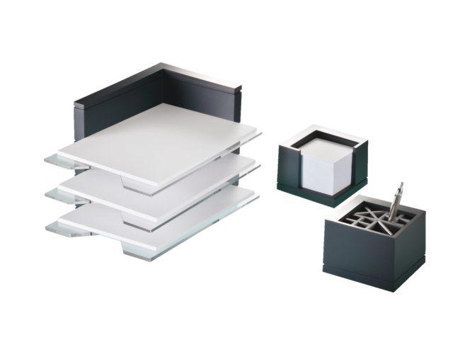bureauset premium line 3 delig antraciet bestel uw bureauset premium line 3 delig antraciet bij. Black Bedroom Furniture Sets. Home Design Ideas