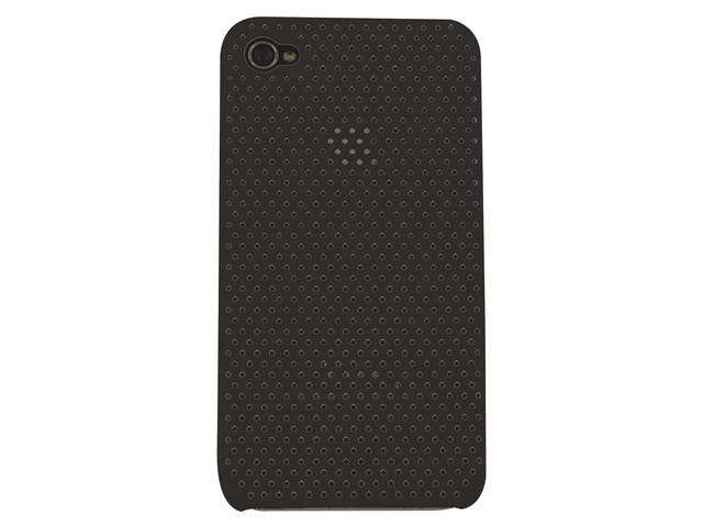 Telefoonhoes dresz iphone 4/4s perforated zwart