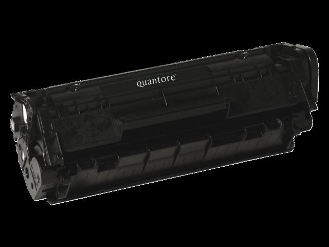 Tonercartridge quantore hp q2612a 12a zwart