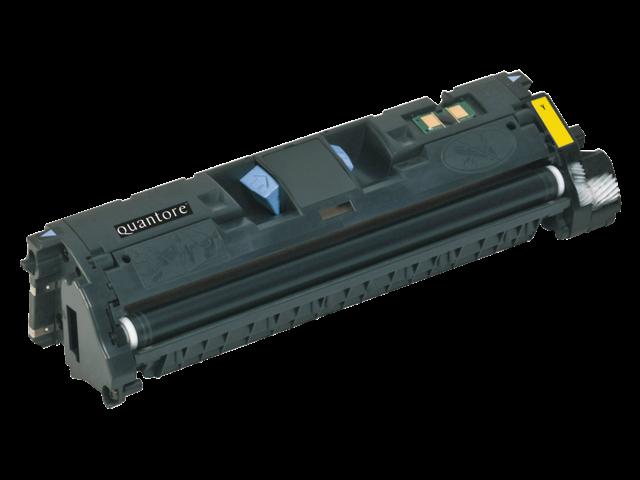 Tonercartridge quantore hp q3962a c9702a 122a geel