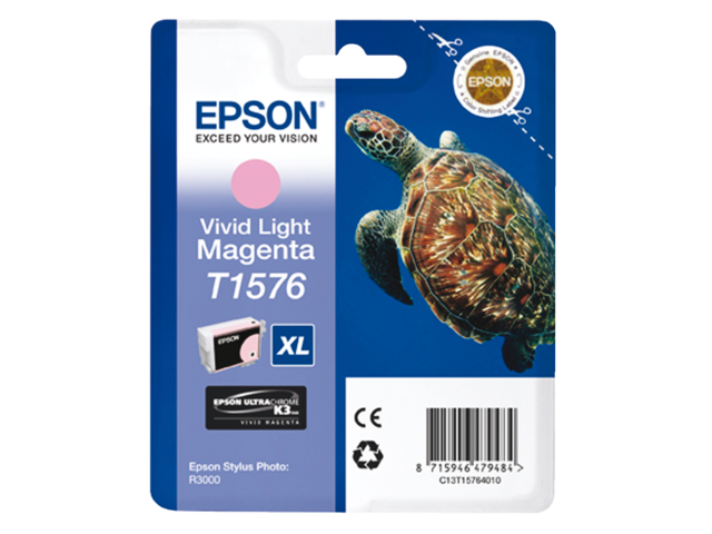 Inkcartridge epson t157640 lichtrood