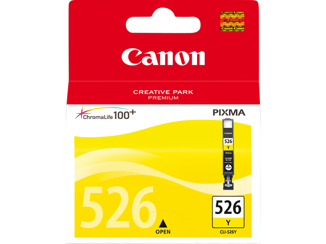 Inkcartridge canon cli-526y geel