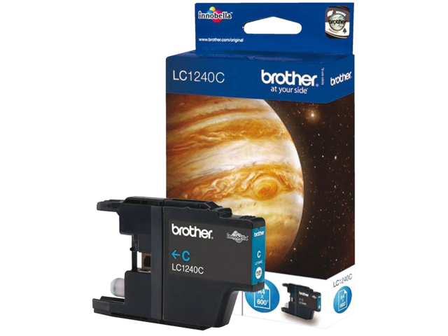 Inkcartridge brother lc-1240c blauw