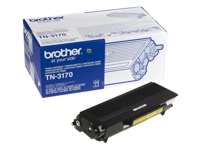 Tonercartridge brother tn-3170 zwart hc