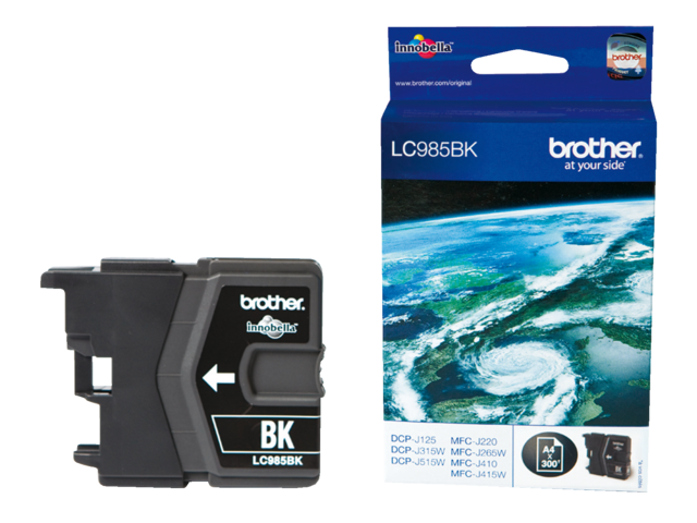 Inkcartridge brother lc-985bk zwart
